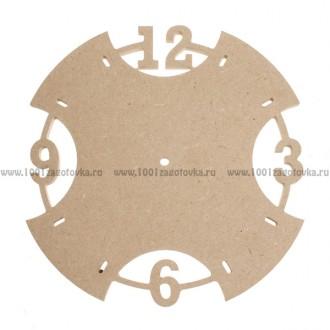 Деревянная заготовка циферблата для часов (МДФ)