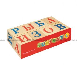 Кубики Алфавит, 8 шт.
