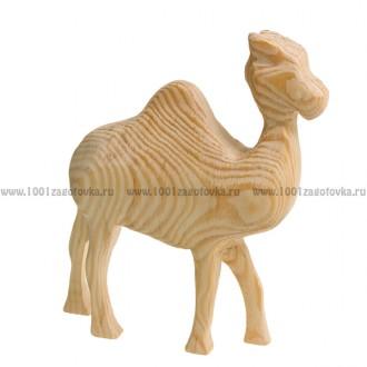 """Деревянная трехмерная заготовка """"Верблюд одногорбый"""""""