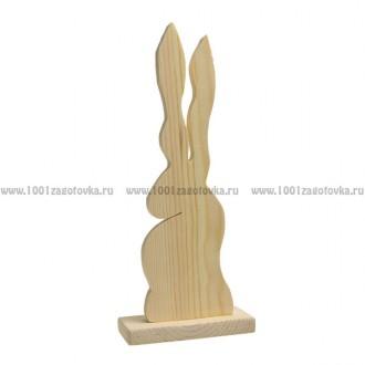 Интерьерный заяц (на подставке)