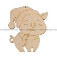"""Фигурка плоская (подвес) """"Симпатичный Свин"""""""