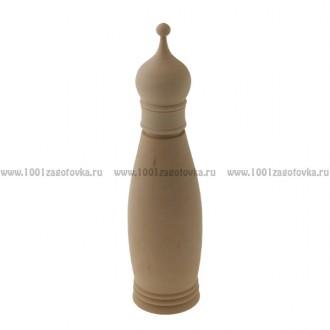 Деревянная заготовка футляра для бутылки объем 0,5 литра