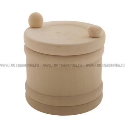 Бочонок с раздвижной крышкой,  0008 , Деревянные заготовки кухонных аксессуаров