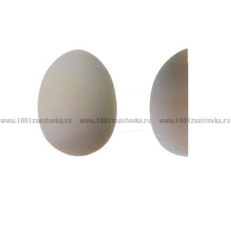 """Деревянная заготовка для магнита """"Яйцо"""" большое (половинка)"""