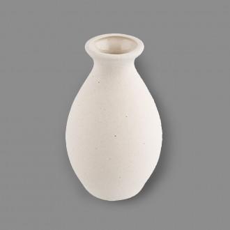 "Заготовка для декорирования ""Love2art"" Ваза керамика №02  7.5 см"