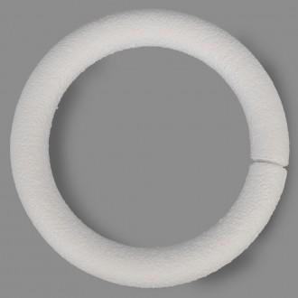 """Заготовка для декорирования """"Венок"""" из пенопласта 250  мм, 1 шт."""