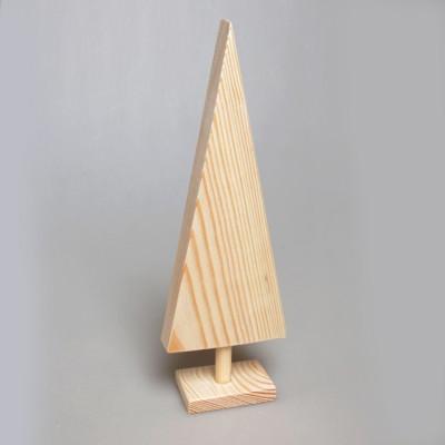 """Фигурка из дерева """"Ёлка большая"""" на подставке"""