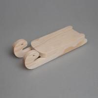 """Игрушка деревянная из сосны """"Санки"""""""