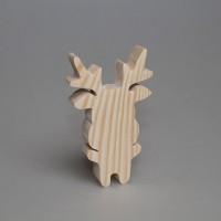 "Фигурка из дерева ""Оленёнок"" 1-9.910"