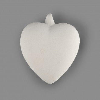 "Заготовка для декорирования ""Сердце"" керамика, подвес ""Love2art"""