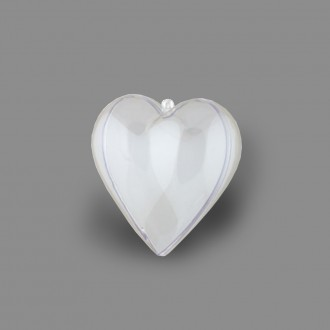 "Заготовка из пластика для декорирования ""Love2art""  ""сердце-1"""