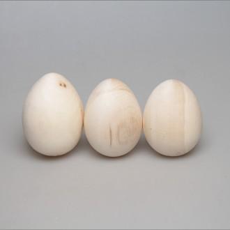Деревянная заготовка Яйцо 8,5 - 9,5 см с уценкой