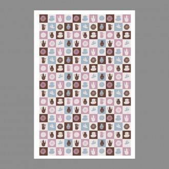 """Бумага рисовая IRP 32 x 45 0181 Приглашение на чай """"Love2art"""""""
