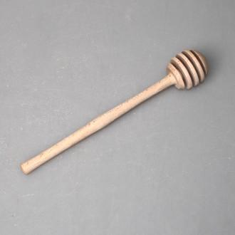 Палочка для мёда из дерева (бук) 1-9.3065