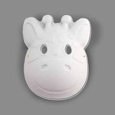 """Заготовка для декорирования """"Love2art"""" OBZ Заготовка для карнавальной маски папье-маше 2 шт 04 Жираф"""