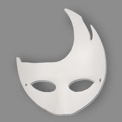 """Заготовка для карнавальной маски папье-маше 2 шт 09 Месяц  OBZ """"Love2art"""""""