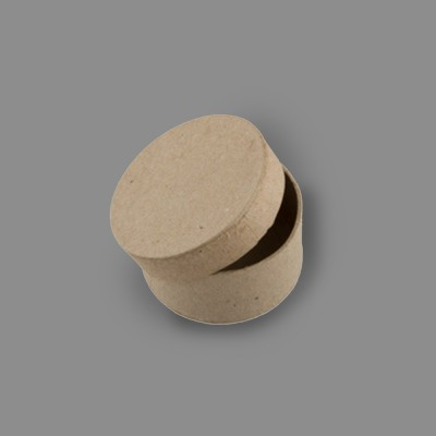 """Заготовка для декорирования """"Love2art"""" PAM-011 """"коробка"""" папье-маше 5.5 x 3 см 2 шт в форме круга"""