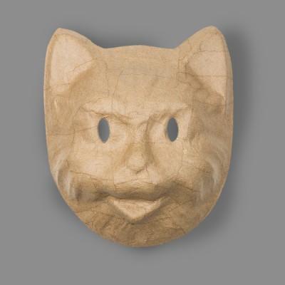 """Заготовка для декорирования """"Love2art"""" PAM-133 """"маска"""" папье-маше 17.5 x 7.3 x 20.5 см Кот"""