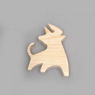 """Фигурка из дерева """"Строптивый бык"""""""
