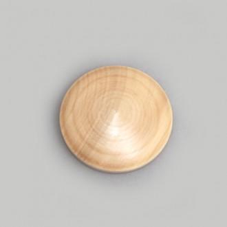 Заготовка из дерева круглая для броши (медальона, значка)