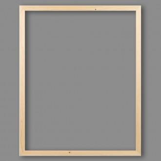 """Деревянная рамка """"Gamma"""" AFB-02 40 х 50 см каркас без стекла натуральное дерево"""