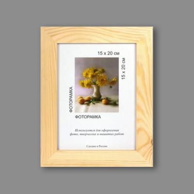 """Деревянная рамка """"Gamma"""" МРД-03 40 х 50 см дерев. с оргстеклом натуральное дерево"""
