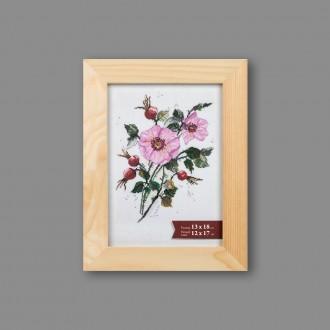 """Деревянная рамка """"Gamma"""" AFBR-01 13 х 18 см дерев. со стеклом натуральное дерево"""