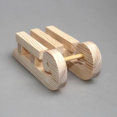 """Игрушка деревянная из сосны """"Сани"""""""