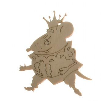 """Фигурка плоская (подвес) """"Мышиный король"""""""