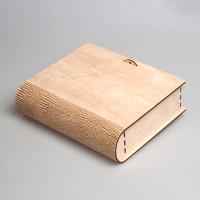 Книга-шкатулка из фанеры