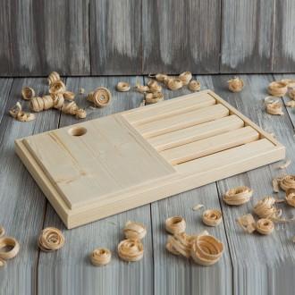 Доска деревянная разделочная 195
