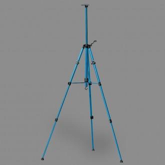 """Мольберт-тренога """"VISTA-ARTISTA"""" VEA-02 алюминий 155 x 80 см 04-синий"""