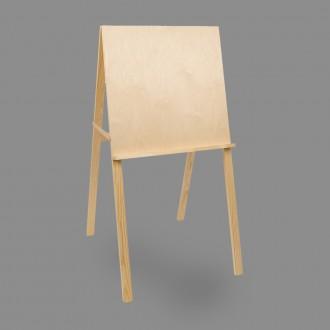 """Мольберт """"Хлопушка """"VISTA-ARTISTA"""" VES-01 сосна 120 x 60 см"""