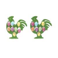 """Декоративное изделие """"Яйцо пасхальное"""", набор из 8-ми штук №01 23 см 724225"""