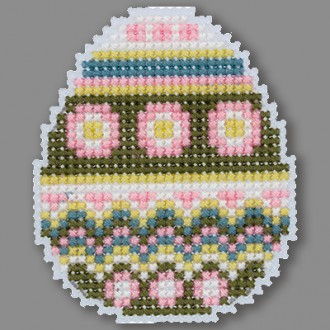 """Набор для вышивания """"Klart"""" 8-454 """"Магнит. Расписное яйцо"""""""