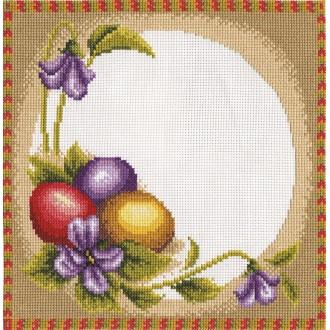 """Набор для вышивания """"PANNA"""" PR-0228 ( ПР-0228 ) """"Пасхальная салфетка"""""""