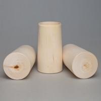 Карандашница из дерева 13 см 1-9.681А