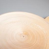 Деревянная заготовка тарелки диаметр 16 см с уценкой