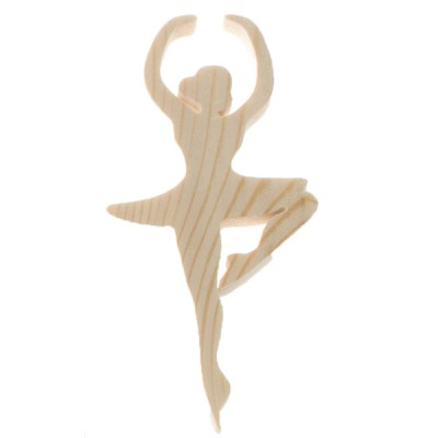 """Фигурка из дерева """"Балерина"""" №1"""