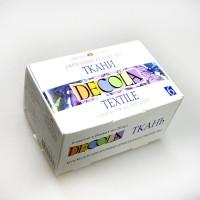 Акриловые краски DECOLA по ткани  (набор 6 цв.)
