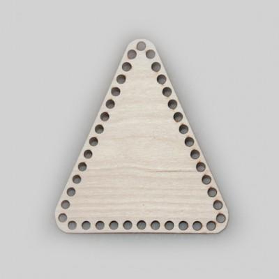 Донышко для корзины из фанеры треугольное