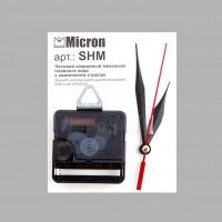 """Часовой кварцевый механизм плавного хода """"Micron"""" с комплектом стрелок SHM 16 мм"""