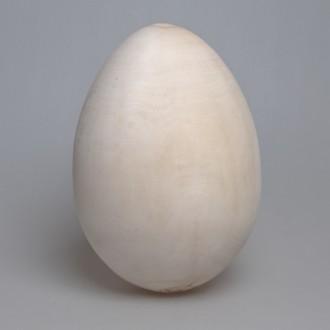 Деревянная заготовка яйцо без подставки 23 см