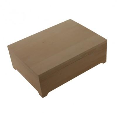 Деревянная заготовка шкатулка под лист А4 33 х 24,5 х 10,5 см