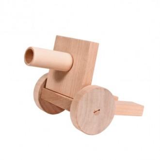 Модель для творчества из дерева Пушка малая (конструктор)