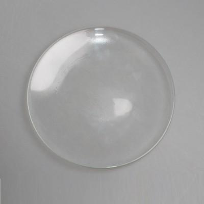 "Блюдо ф19см ""Nina Gllass"" (прозрачное стекло)"