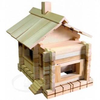 Дачный домик из дерева С 43