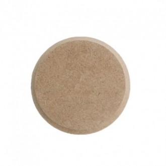 Накладка для декора круглая мини (МДФ)