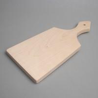 Деревянная заготовка разделочной доски из массива (береза)