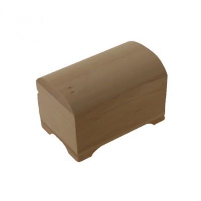 Деревянная заготовка шкатулка сундучок 10 х 7 см